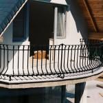 Balkon korlát