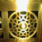 Fűtőtest takarólemezek OTP székház