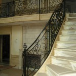 Kovácsoltvas lépcső - USA