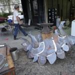 Bébi stregosaurust formázó pad készítési fázisai 06